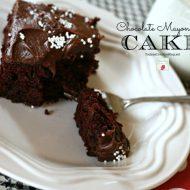 Mayonnaise Cake - TodaysCreativeLife.com
