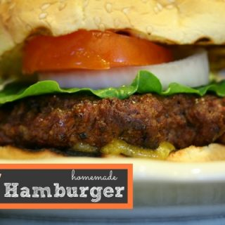 How to Make the perfect burger - TodaysCreativeLife.com
