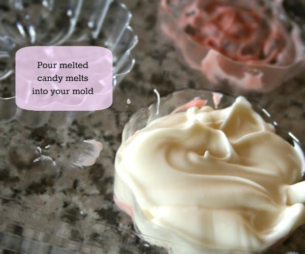 Candy Molds with Candy Melts