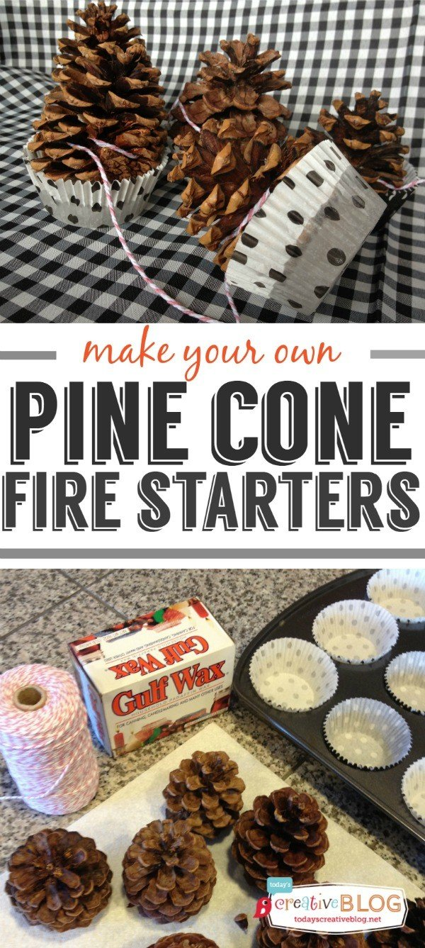 pine cone fire starters diy today u0027s creative life