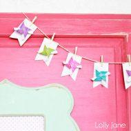 Make a Bunting ~ Pinwheel Bunting