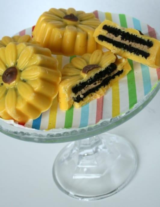 Yellow Sunflower Cookies