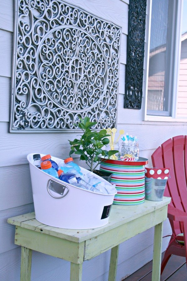 Outdoor Wall Art {DIY} | Today's Creative Life on Outdoor Garden Wall Art Ideas id=44682