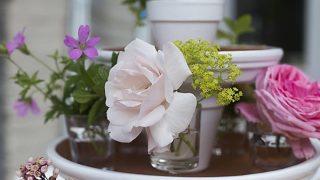 Garden Centerpiece ~ Easy Summer Table