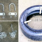 How to make a tire swing | TodaysCreativeBlog