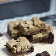 Bar Recipes {Brown Butter Chocolate Chunk Blondies}