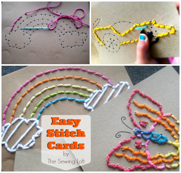 Easy Stitch Cards