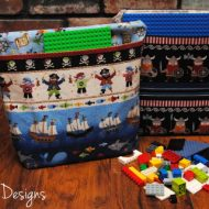 Activities for the Car ~ Lego Travel Bag Tutorial