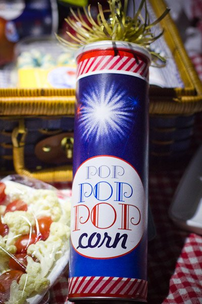 Firecracker Popcorn Recipe | Watch the fireworks on 4th of July with this mouth popping treat. | TodaysCreativeBlog.net