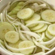 Vinegar Cucumbers