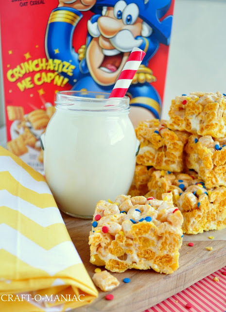 Captain Crunch Bars Recipe | Easy to make, yummy to eat! See more on TodaysCreativeLife.com