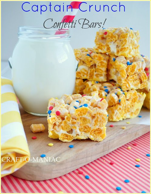 Captain Crunch Bars | See more yummy sweets on TodaysCreativeLife.com
