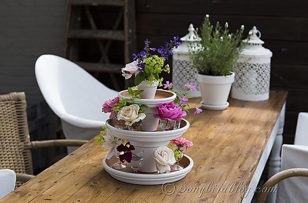 Garden centerpiece easy summer table today s creative life