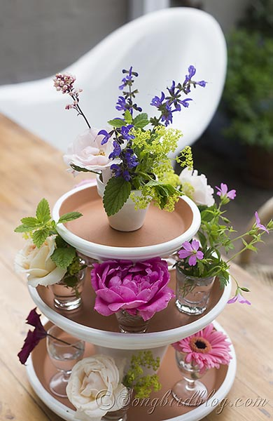Garden centerpiece easy summer table today s creative life
