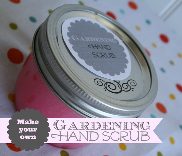 Dry Skin Remedy | diy gardening hand scrub | TodaysCreativeBlog.net