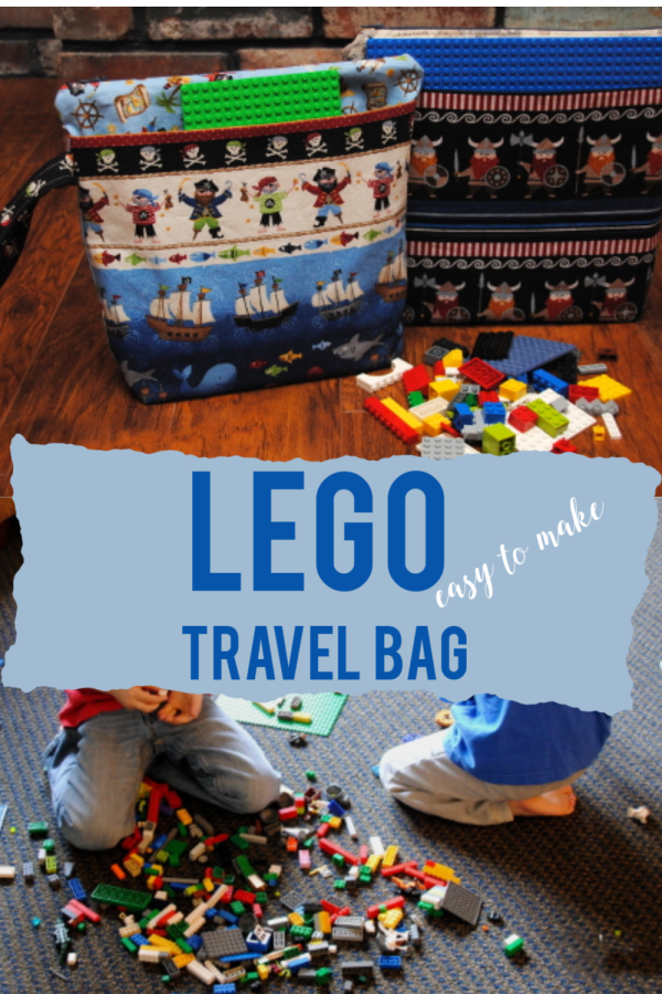 DIY Lego Travel Bag | Sewing project | todayscreativelife.com