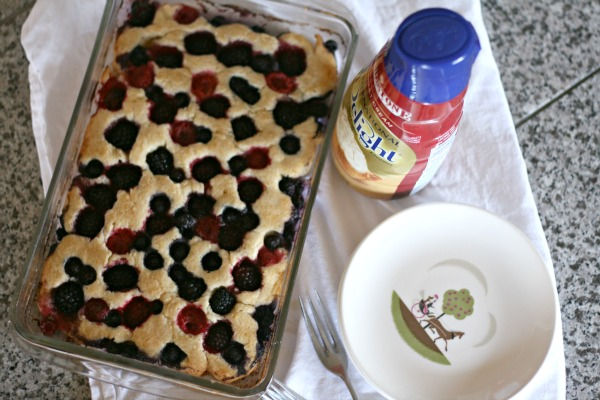 triple berry cobbler | todayscreativeblog.net