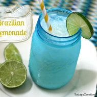 Brazilian Lemonade {refreshing & delicious}