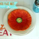 diy placemats | TodaysCreativeBlog.net