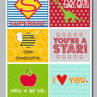 printable lunchbox notes | TodaysCreativeBlog.net