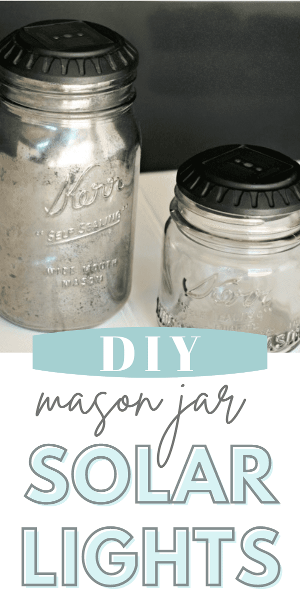 How to Make a DIY Mason Jar Solar Light.