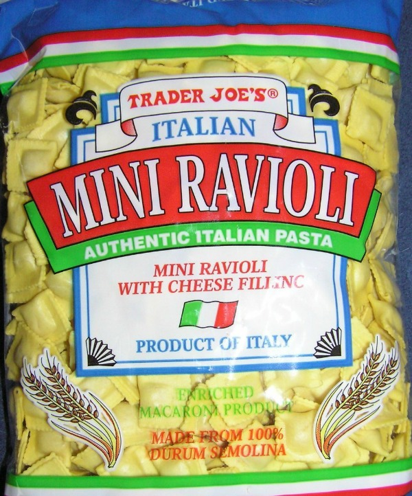 Dried mini ravioli