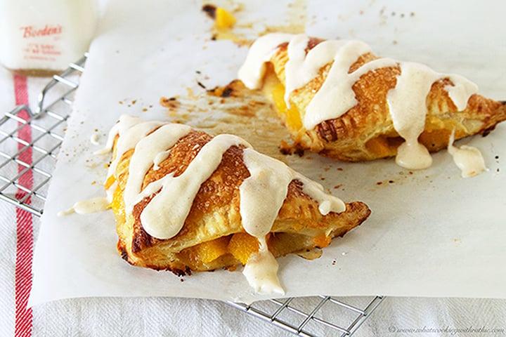 Easy Peach Turnovers Recipe