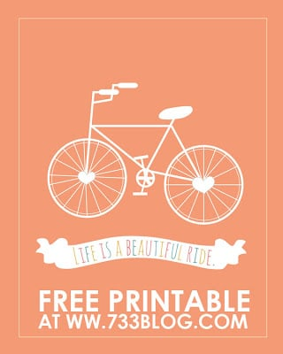 Free printable from 733blog