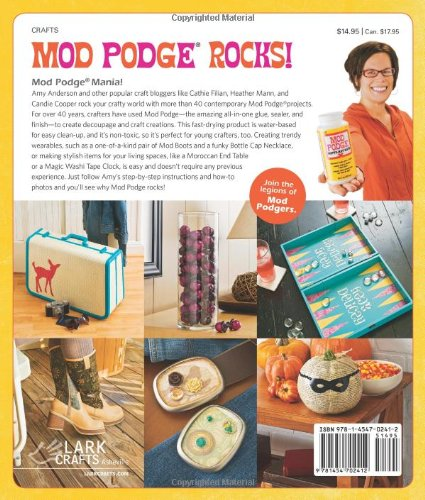 Amy Anderson Mod Podge Book