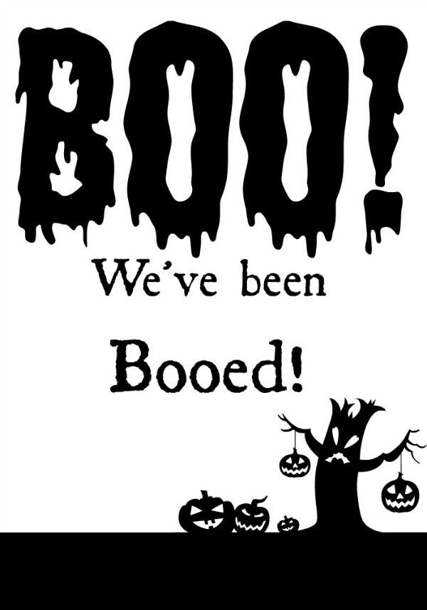 Youve been Booed Printable | Halloween Traditions | Booing the Neighborhood | Make Halloween even MORE fun for the neighborhood! Get your free printable on TodaysCreativeLife.com