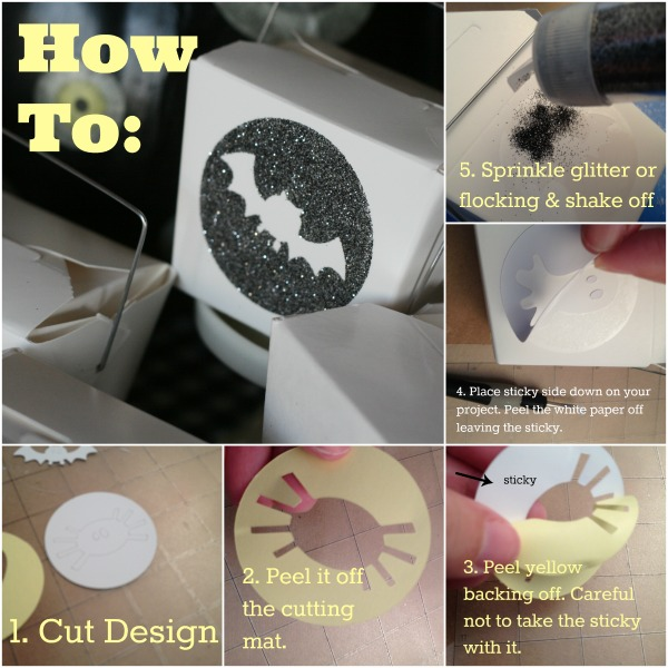 Silhouette Tutorial- Double Sided Adhesvie | TodaysCreativeBlog.net