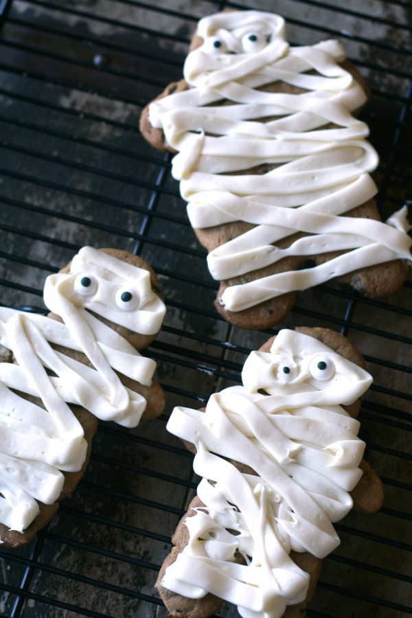 mummy cookies