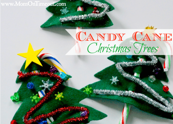 Candy Cane Christmas Craft Ideas from Mom on Timeout
