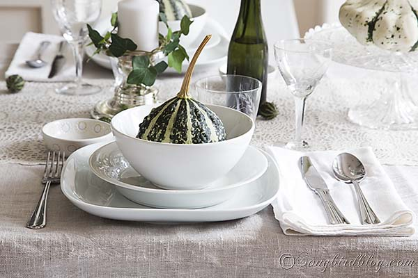 Setting your fall table