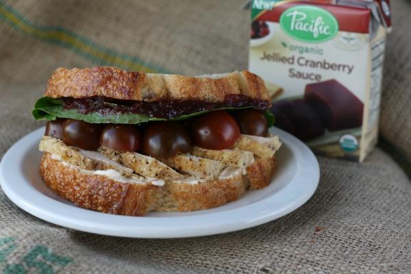 Homemade Leftover Turkey Sandwich
