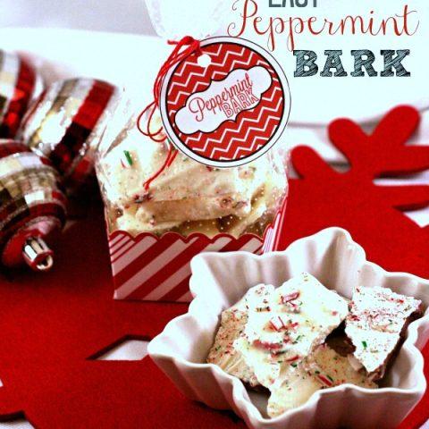 Peppermint Bark Recipe Holiday Traditions | TodaysCreativeBlog.net