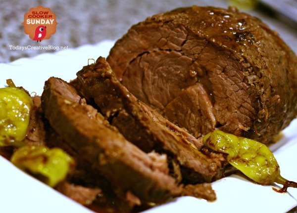 Crockpot Mississippi Pot Roast | TodaysCreativeBlog.net