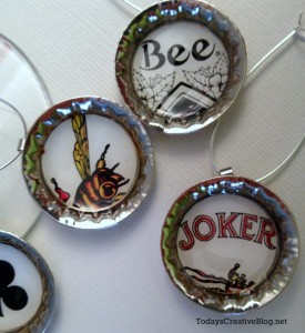 Diy Drink Charms | TodaysCreativeBlog.net