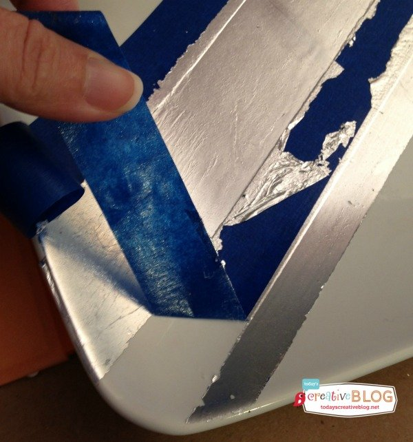 DIY Silver Gilding | TodaysCreativeBlog.net