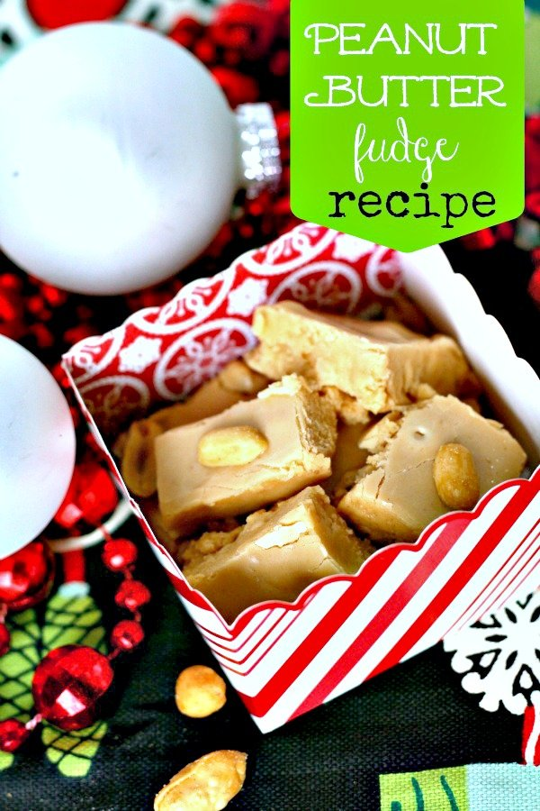 Peanut Butter Fudge | TodaysCreativeBlog.net