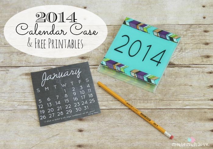 Diy Calendar Cd Case : Printable calendar round up today s creative life