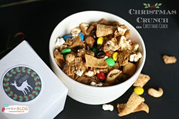 Christmas Crunch Recipe |TodaysCreativeBlog.net