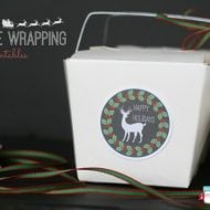 Quick & Easy Creative Wrapping Ideas {free printable}