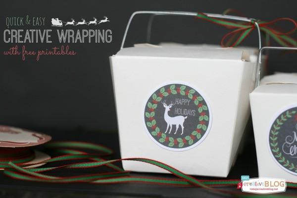 quick & easy Creative Wrapping | TodaysCreativeBlog.net