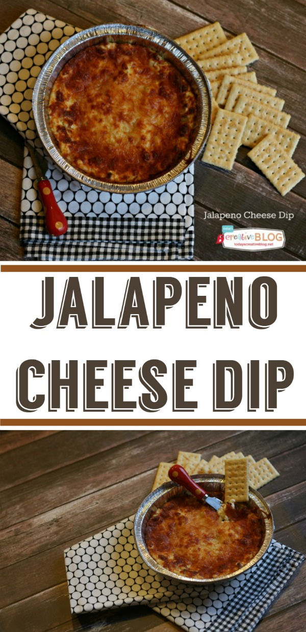 jalapeno cheese dip recipe | TodaysCreativeBlog.net
