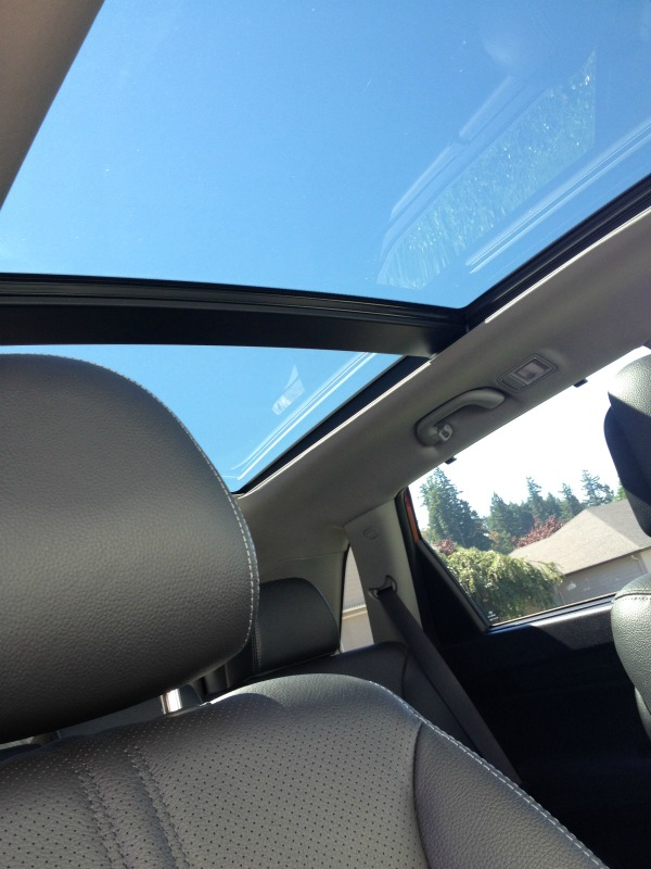 kia sunroof