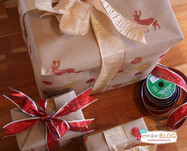 Gift Wrapping Ideas | TodaysCreativeBlog.net