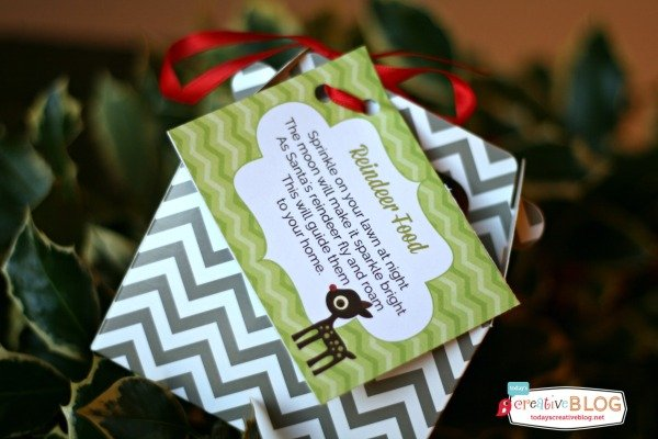Reindeer Food Poem Free Printable | TodaysCreativeBlog.net