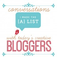 Conversations with Today's Creative Bloggers {Victoria Elizabeth Barnes}