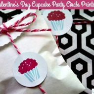 Free Printable Valentine Cupcake Toppers